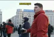 Romanii si-au aratat solidaritatea la protest. Au pregatit mancare si ceaiuri calde pentru manifestanti