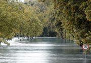 Pericol de inundatii in mai multe zone din tara. Opt bazine hidrografice sunt in pericol de inundare