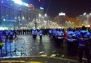 Opt persoane inculpate in urma violentelor de miercuri din Piata Victoriei, sapte dintre ele retinute