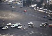 """""""Primul"""" in Piata Victoriei. Fotografia care a devenit virala pe Facebook"""