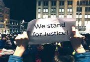 Proteste si in strainatate. Presa internationala vuieste, iar posturi de televiziune renumite au transmis aseara in direct, din mijlocul multimii adunate in Piata Victoriei