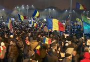 Zeci de mii de oameni au protestat in marile orase cerand demisia Guvernului. Aproape 400.000 au iesit pe strada in intreaga tara