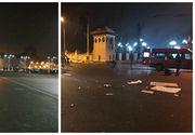 Jandarmii si jurnalistii au strans gunoaiele dupa protestul de la Cotroceni. In Piata Victoriei, oamenii au facut curat