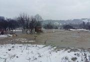 Zeci de gospodarii din Mures au fost inundate in ultimele 24 de ore