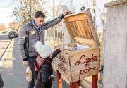 Preotii dintr-un cartier sarac al Constantei au infiintat Lada cu Paine. O cutie din care oamenii saraci sa se serveasca ori de cate ori au nevoie