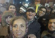 Fiica bulibasei din Gilau, la mitingul de la Cotroceni! Dana Varga e o apropiata a lui Calin Popescu Tariceanu