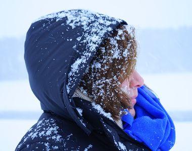 Cod galben de ninsori si viscol in Bucuresti si noua judete, pana joi dimineata