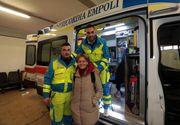 """O asistenta si doi voluntari italieni au indeplinit ultima dorinta a unei bacauance bolnava: """"Vreau sa mor acasa!"""" Au adus-o din Italia cu o ambulanta in 25 de ore! Ajunsa acasa, femeia a murit"""
