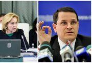 Comisia SRI ii audiaza joi pe directorul Eduard Hellvig si pe ministrul de Interne, Carmen Dan, in urma protestelor