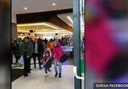 Panica intr-un mall din Galati. Un apel anonim la 112 anunta existenta unei bombe.