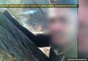 Un baiat din Cluj a stat atarnat pe o schela, la 10 metri inaltime, ca sa stranga cat mai multe like-uri