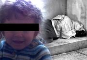 O fetita de numai 4 ani, gasita vanata de frig langa mama beata, intr-un parc din Caransebes