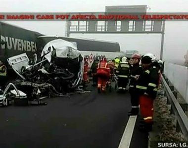 Accident cu un autocar romanesc in Ungaria. Patru persoane au murit, printre care si un...
