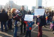 Autoritatea pentru Protectia Copilului a primit 25 de sesizari privind prezenta copiilor la proteste