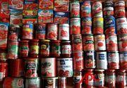 78% din bulionul si pasta de tomate vandute in Romania ar trebui retrase de pe piata, sustine Asociatia Pro Consumatori. Ce contin acestea