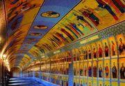 Tunelul celor 365 de sfinti din statiunea montana Straja a devenit o adevarata atractie turistica. I-a uluit pe turistii straini