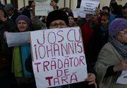 Cateva persoane au protestat, pentru a 18-a zi la rand, la Cotroceni