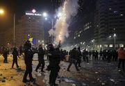 Descinderi in casele persoanelor care au provocat violentele din Piata Victoriei in 1 februarie - Perchezitiile au scos la iveala zeci de materiale pirothnice in casele inculpatilor