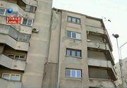 """Un bloc cu 5 etaje, din Bucuresti, mutat cu tot cu locatari: """"Nu se simtea nimic"""""""