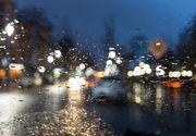 Circulatie ingreunata pe autostrazile A2 Bucuresti - Constanta si A4 Agigea - Ovidiu, din cauza ploii torentiale