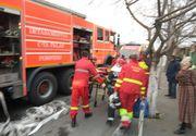 Explozie intr-un bloc de garsoniere din Brasov din cauza unei acumulari de gaze