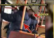 O controloare din Constanta a fost agresata si palmuita de un individ prins fara bilet. Scene de groaza in autobuz