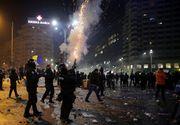Cinci persoane plasate initial sub control judiciar in dosarul violentelor din Piata Victoriei au fost arestate