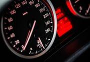 Sofer prins de politisti in timp ce conducea cu 226 kilometri la ora, pe Autostrada A1 Ramnicu Valcea - Deva