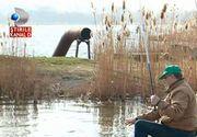 Lacul Tabacariei din Constanta, un adevarat focar de infectie. Oamenii insa pescuiesc in continuare in apa plina de dejectii