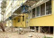 Au fost angajati  sa reabiliteze blocurile, insa au transformat zona intr-o veritabila groapa de gunoi. Imagini revoltatoare