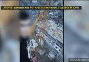 Imaginile care iti taie respiratia. Unde s-a suit un pusti din Oradea pentru a primi Like-uri pe Facebook.