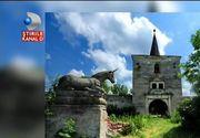 Misterul unicornilor care strajuiesc intrarea unui castel din Transilvania - Povestea misterioasa a unui loc incarcat de istorie: Castelul Kornis