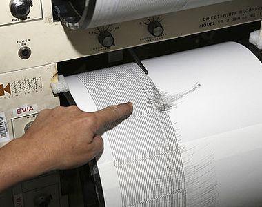 Cutremur cu magnitudinea 4,3 in judetul Vrancea