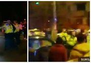 Scene absolut socante in Capitala! Un tanar de 22 de ani a tarat un politist pe capota masinii! Soferul nu a vrut sa opreasca la semnalele agentilor