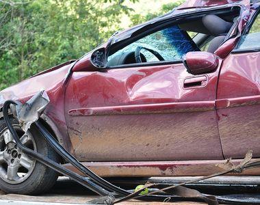 Trei persoane au fost ranite in urma unui accident, pe DN 74, in Muntii Apuseni