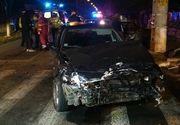 Trei morti si doi raniti, dupa ce un sofer a intrat cu masina intr-un cap de pod in judetul Timis