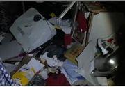 Explozia din Galati in care a murit o fetita s-a declansat cand un proprietar si-a aprins o tigara in locuinta unde se produsese o acumulare de gaze VIDEO