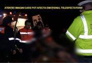 Accident infiorator in Timis. Trei barbati au murit, dupa ce masina in care erau s-a lovit violent de un cap de pod