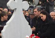 Nora Ilenei Ciuculete, distrusa la inmormantarea artistei. Este mama singurului nepot al cantaretei