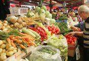 Ce preturi sunt in pietele din Romania: Cartofii costa la Constanta de doua ori mai mult decat la Targoviste