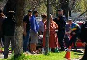 Doi adolescenti au fost pur si simplu spulberati pe trecerea de pietoni de un tanar inconstient in Calarasi
