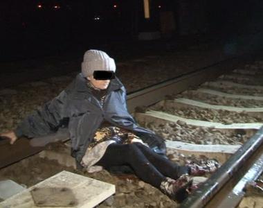 O batranica de 70 de ani din Prahova a supravietuit, dupa ce a fost calcata de tren