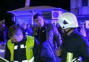 Imagini halucinante, surprinse de camerele video din Iasi! Un avocat aproape de coma alcoolica a ucis un tanar si a ranit alte trei persoane