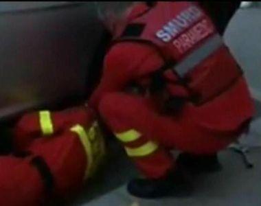 """6 pisoi, salvati de paramedicii din Galati. Misiune de salvare emotionanta: """"Nu am..."""