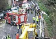 Un sofer roman de TIR a provocat un cumplit accident in Italia, soldat cu doi morti si sase raniti