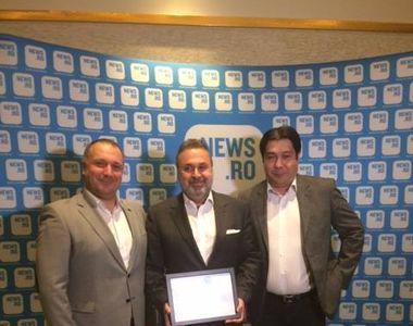 Haluk Kurcer, presedintele Kanal D, premiat la Gala News.ro pentru Leadership si...