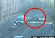 Un sofer de 19 ani din Valcea a depasit o coloana de masini formata la semafor, iar apoi a provocat un accident devastator
