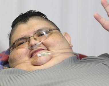 Cantarea peste 500 de kilograme, dar a spus stop. In trei luni a slabit peste 200 de...