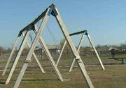 Bataie de joc pe banii statului! Autoritatile din Pecineaga au investit peste un milion de lei intr-un parc in care nu se plimba nimeni