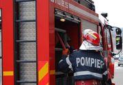 Incendiu la o hala de depozitare din Bucurestii Noi; acoperisul, afectat pe o suprafata de 300 de metri patrati